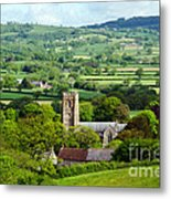 Whitchurch Canonicorum Overview  Metal Print