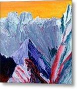 White Canyon Metal Print