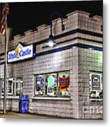 White Castle Metal Print