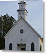 White Country Church Series Photo A Metal Print