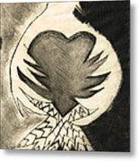 White Dove Art - Comfort - By Sharon Cummings Metal Print