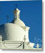 White Dove Of The Desert Metal Print