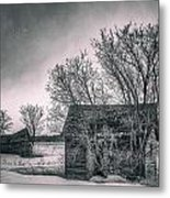 White Farms Metal Print by Stuart Deacon