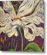 White Flower Series 6 Metal Print