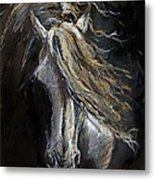 White Ghost Metal Print