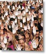 White Hands  - Manos Blancas Metal Print
