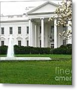 White House Metal Print