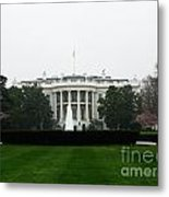 White House In Dc Metal Print