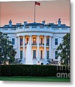 White House Metal Print