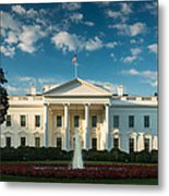 White House Sunrise Metal Print
