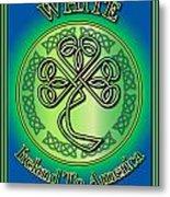 White Ireland To America Metal Print