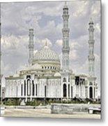White Mosque Metal Print