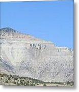 White Mountain Metal Print