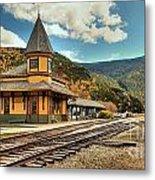 White Mountans Crawford Train Depot Metal Print