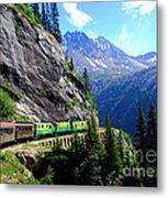 White Pass And Yukon Route Railway In Canada Metal Print