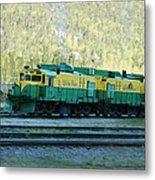 White Pass Railroad 2 Metal Print