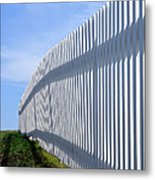 White Picket Fence Metal Print