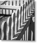 White Picket Fence Portsmouth Metal Print