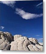 White Pocket In The Vermillion Cliffs Metal Print