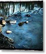 White River Flowing Metal Print