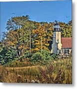 White River Lighthouse Metal Print