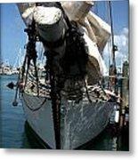 White Sail   Metal Print
