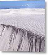 White Sand Metal Print by Frits Selier