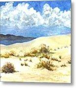White Sands New Mexico U S A Metal Print
