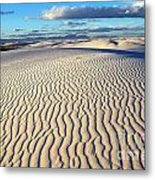 White Sands Of New Mexico Metal Print