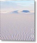 White Sands Serenity Metal Print