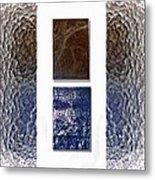 White Space Metal Print