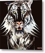 White Tiger 1 Metal Print