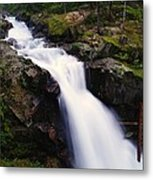 White Water Falling  Metal Print