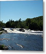 White Water On The West Branch Metal Print