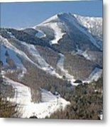 Whiteface Ski Mountain In Upstate New York Near Lake Placid Metal Print by Brendan Reals