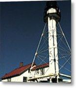 Whitefish Point Light Station Metal Print