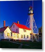 Whitefish Point Lighthouse Metal Print