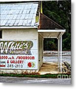 White's Furniture Metal Print