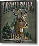 Whitetail Deer Traditions Metal Print