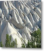 Whitewashed Rock From A Hot Air Balloon Metal Print