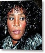 Whitney Houston 1989 Metal Print