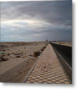 Who Knows What The Next Road Will Bring  Metal Print