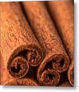 Whole Cinnamon Sticks  Metal Print
