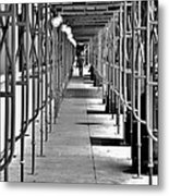 Whole Foods New Tunnel Metal Print