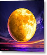 Whole Of The Moon Metal Print by Robin Moline