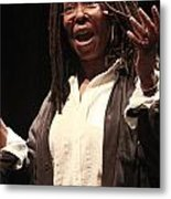 Whoopi Goldberg Metal Print
