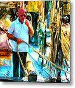 Who's Crazy Now? Metal Print