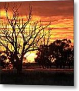 Why I Go Camping Metal Print
