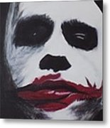 Why So Serious? Metal Print