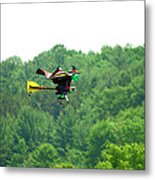 Wicked And Flying Metal Print